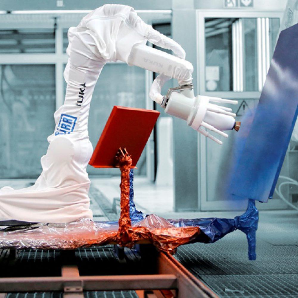 רובוט לצביעה